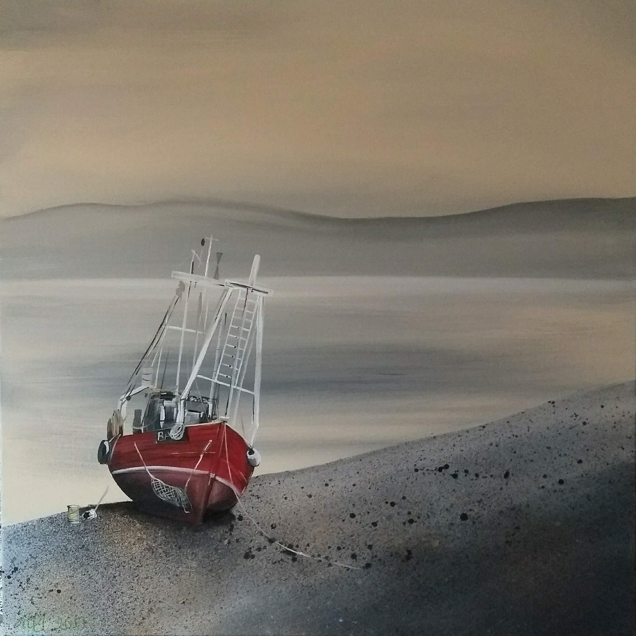 Trawler on Loch Long