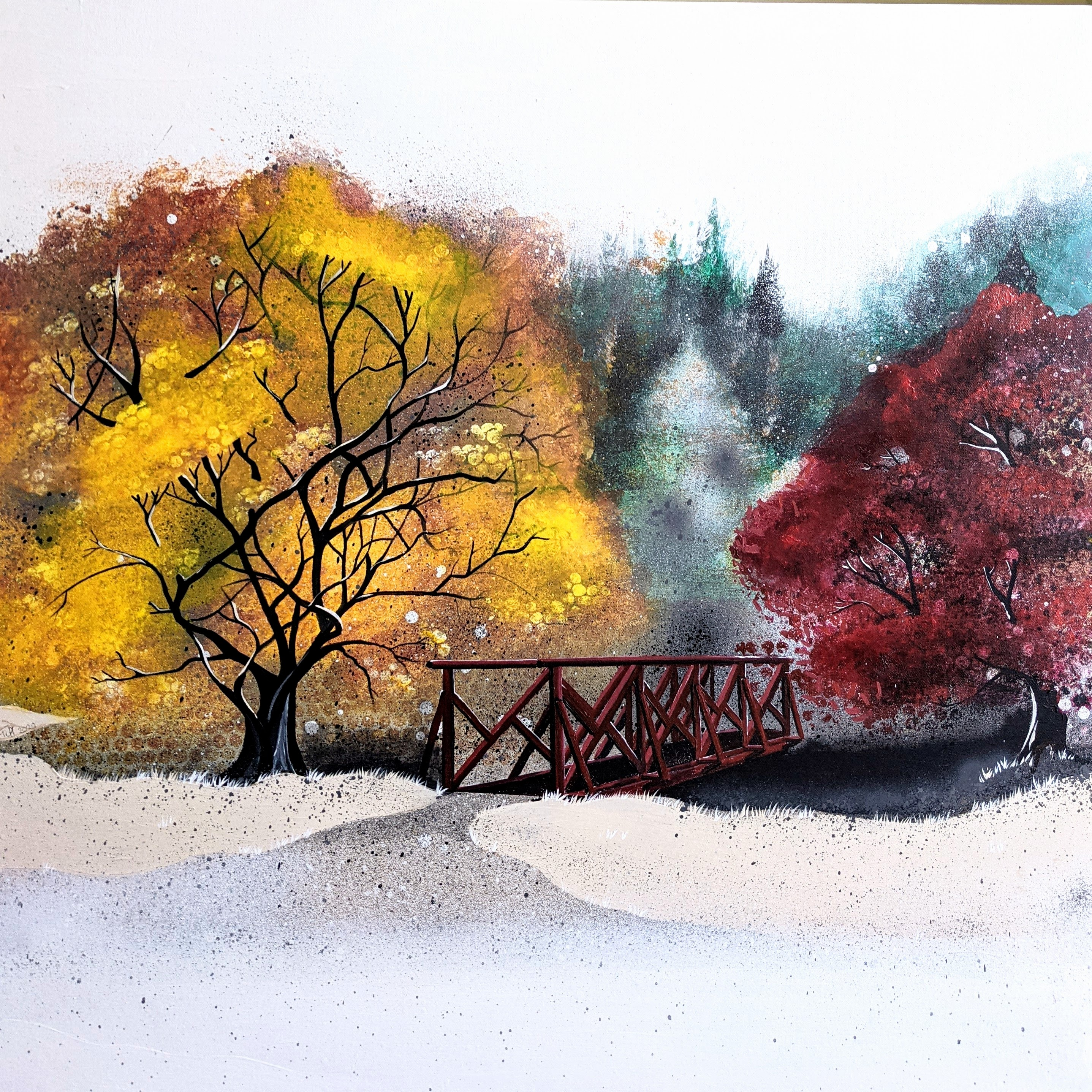 Bridge at Benmore Gardens